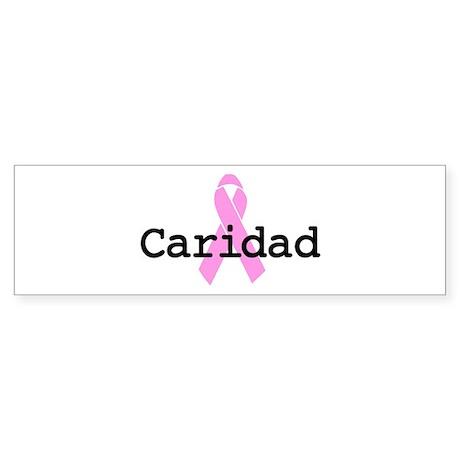 BC Awareness: Caridad Bumper Sticker