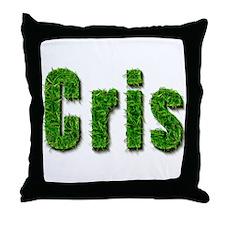 Cris Grass Throw Pillow