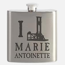 I Love (Guillotine) Marie Antoinette Flask