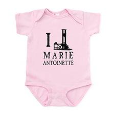 I Love (Guillotine) Marie Antoinette Onesie
