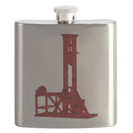 Red Guillotine Flask