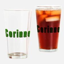 Corinne Grass Drinking Glass