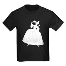 18th Century Lady Silhouette T