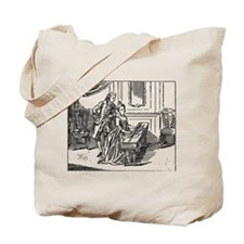 Playing The Harpsichord Tote Bag