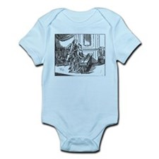 Playing The Harpsichord Infant Bodysuit