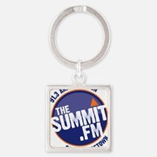 Cute The summit Square Keychain