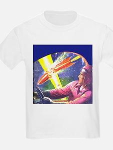 Rocket Explosion Kids T-Shirt