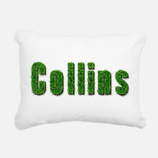 Collins Grass Rectangular Canvas Pillow