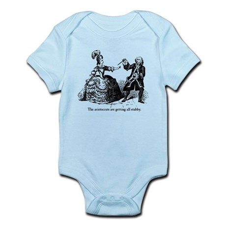 Aristocrats Getting Stabby Infant Bodysuit