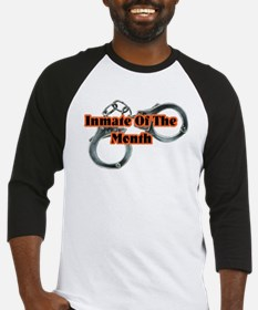 INMATE OF THE MONTH Baseball Jersey