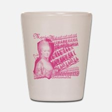 Pink Marie Antoinette Collage Shot Glass