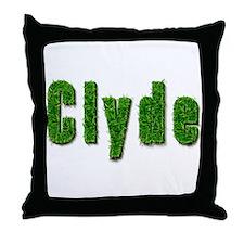 Clyde Grass Throw Pillow
