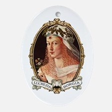 Lucrezia Borgia Ornament (Oval)