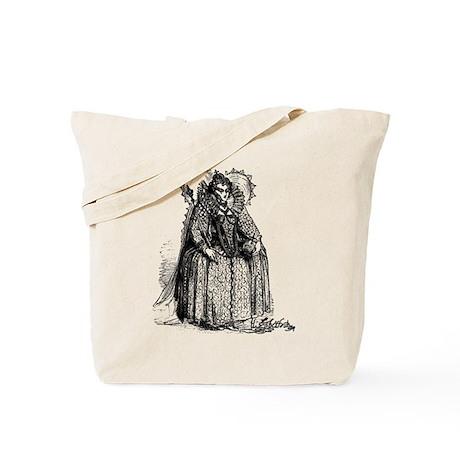 Queen Elizabeth I Illustration Tote Bag