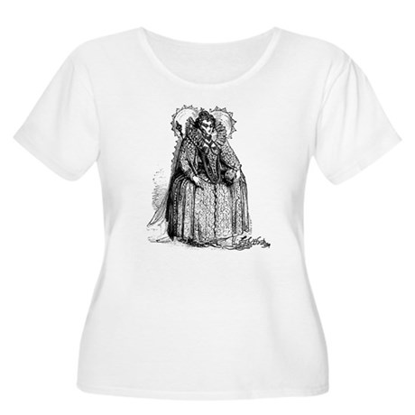 Queen Elizabeth I Illustration Women's Plus Size S