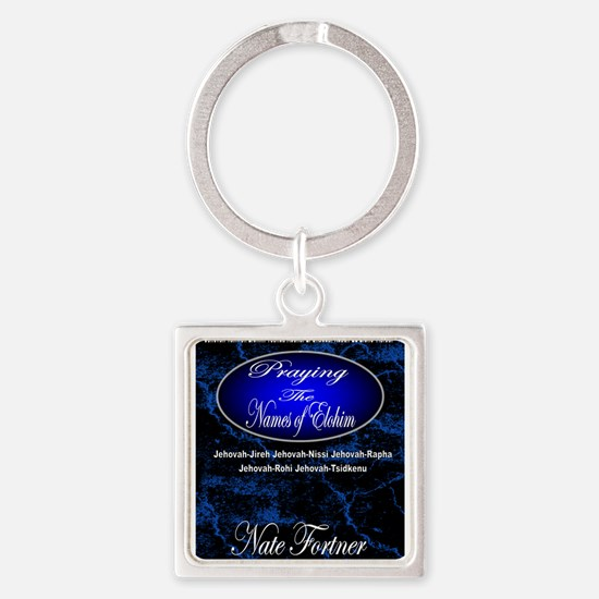 The Names of God Square Keychain