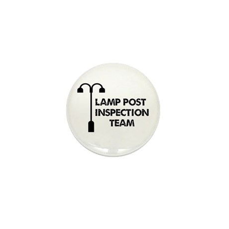 Lamp Post Inspection Team Mini Button (10 pack)