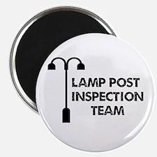 "Lamp Post Inspection Team 2.25"" Magnet (10 pack)"