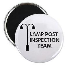 Lamp Post Inspection Team Magnet