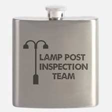 Lamp Post Inspection Team Flask