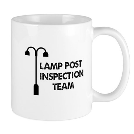 Lamp Post Inspection Team Mug