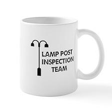 Lamp Post Inspection Team Small Mugs