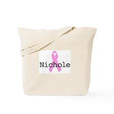 BC Awareness: Nichole Tote Bag