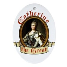 Catherine The Great Ornament (Oval)