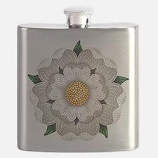 White Rose Of York Flask