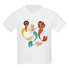 Aqua Citrine Coral T-Shirt
