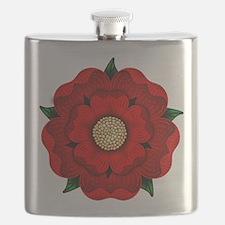Red Rose Of Lancaster Flask