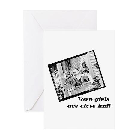 yarngirls Greeting Cards