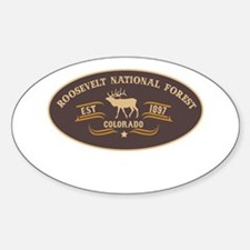 Roosevelt Belt Buckle Badge Decal