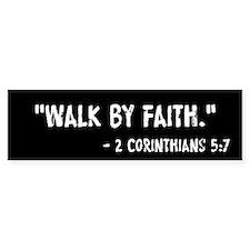 Walk By Faith 2 Cor 5:7 Stickers