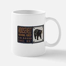 Roosevelt Black Bear Badge Mug