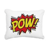 Pow Rectangle Canvas Pillows