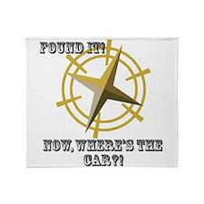 Wheres The Car?! Throw Blanket