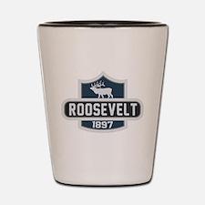 Roosevelt Nature Badge Shot Glass