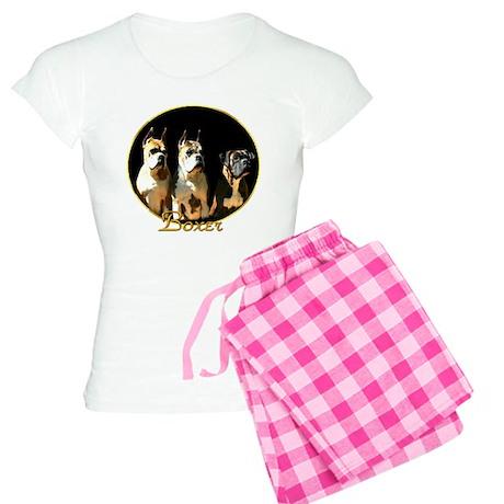 Boxer Dogs Women's Light Pajamas