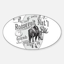 Roosevelt Vintage Moose Decal