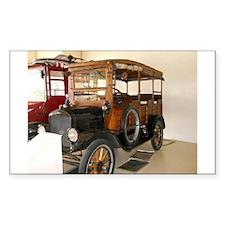 Jungle Wagon Decal
