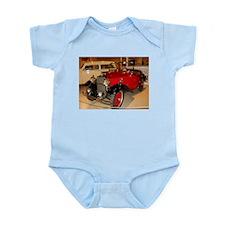 Classic Tiny Red Hot Car Infant Bodysuit