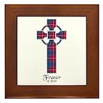 Cross - Fraser of Lovat Framed Tile
