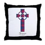 Cross - Fraser of Lovat Throw Pillow
