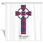 Cross - Fraser of Lovat Shower Curtain
