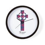 Cross - Fraser of Lovat Wall Clock