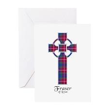 Cross - Fraser of Lovat Greeting Card