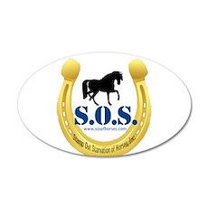 SOS Logo Wall Decal
