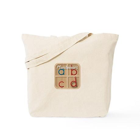 Mobile Montessori - Movable Alphabet icon Tote Bag
