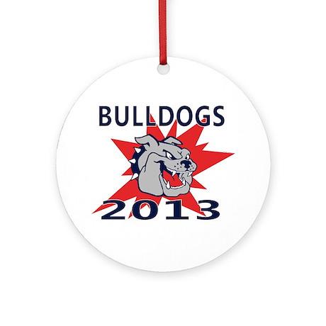 Bulldogs 2013 Ornament (Round)